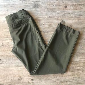 NEW DIRECTIONS | GREEN STRAIGHT LEG DRESS PANTS